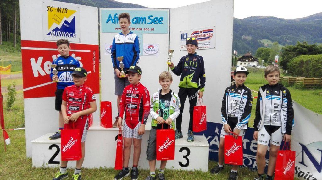 Stefan Herzog 1. Platz, Nico Dobnig 2. Platz